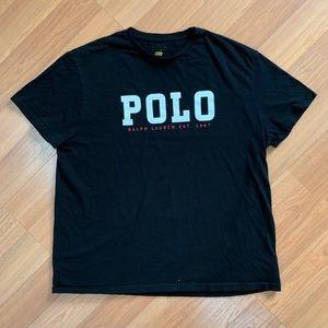 Polo Ralph Lauren Black Tee Shirt